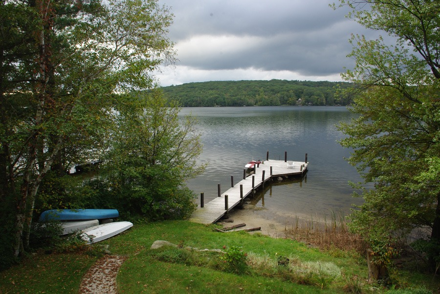 connecticut-lake-dock-overcast