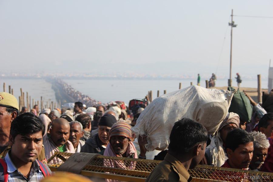 So many people at the Kumbha Mela India