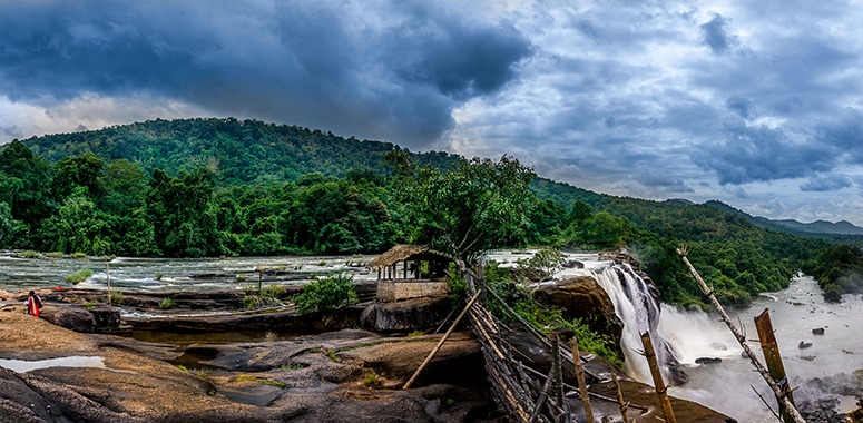 waterfalls-at-Athirappilly